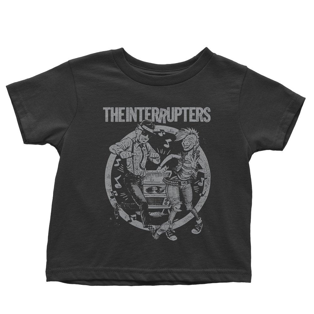 Dancing Couple - Kid's T-Shirt (Black)