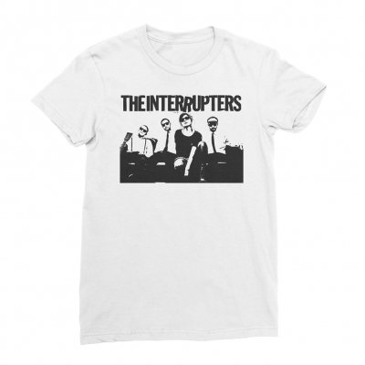 the-interrupters - Band Photo Women's T-Shirt (White)