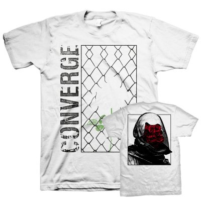 converge - Branca Rose Thief Tee (White)