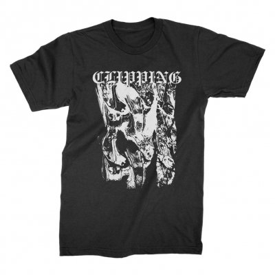 clipping - Texture T-Shirt (Black)