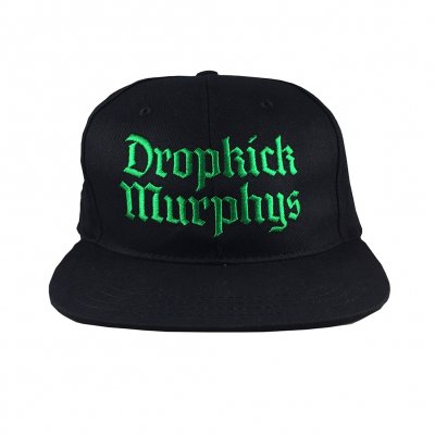 dropkick-murphys - Gothic Logo Snapback Hat (Black)