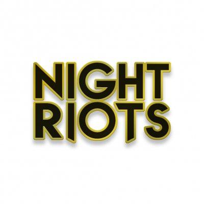 night-riots - Night Riots Logo Enamel Pin