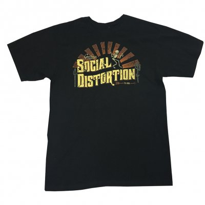social-distortion - Greetings T-Shirt (Black)