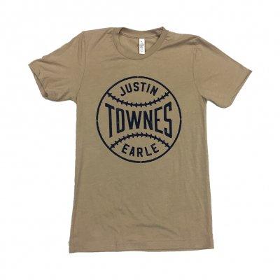 justin-townes-earle - Baseball T-Shirt (Natural)