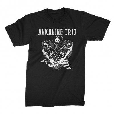 alkaline-trio - Your Coffin Tee (Black)