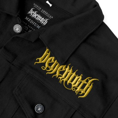behemoth - Custom Sigil Denim Jacket (Black)