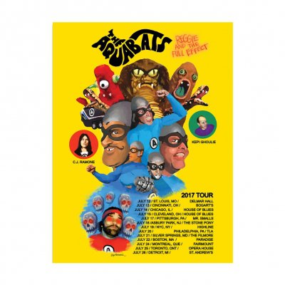 the-aquabats - 2017 Tour Poster