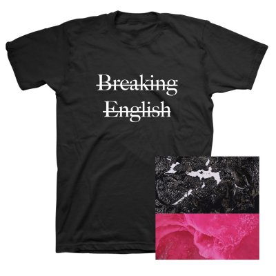anti-records - Breaking English CD + Breaking English Tee (Black)