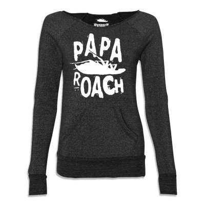 papa-roach - Classic Logo Women's Fleece (Black)