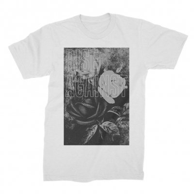 rise-against - Roses Tee (White)