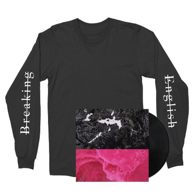 Rafiq Bhatia - Breaking English LP + Breaking English Longsleeve (Black)