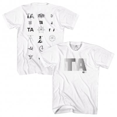 touche-amore - Icons Logo T-Shirt (White)