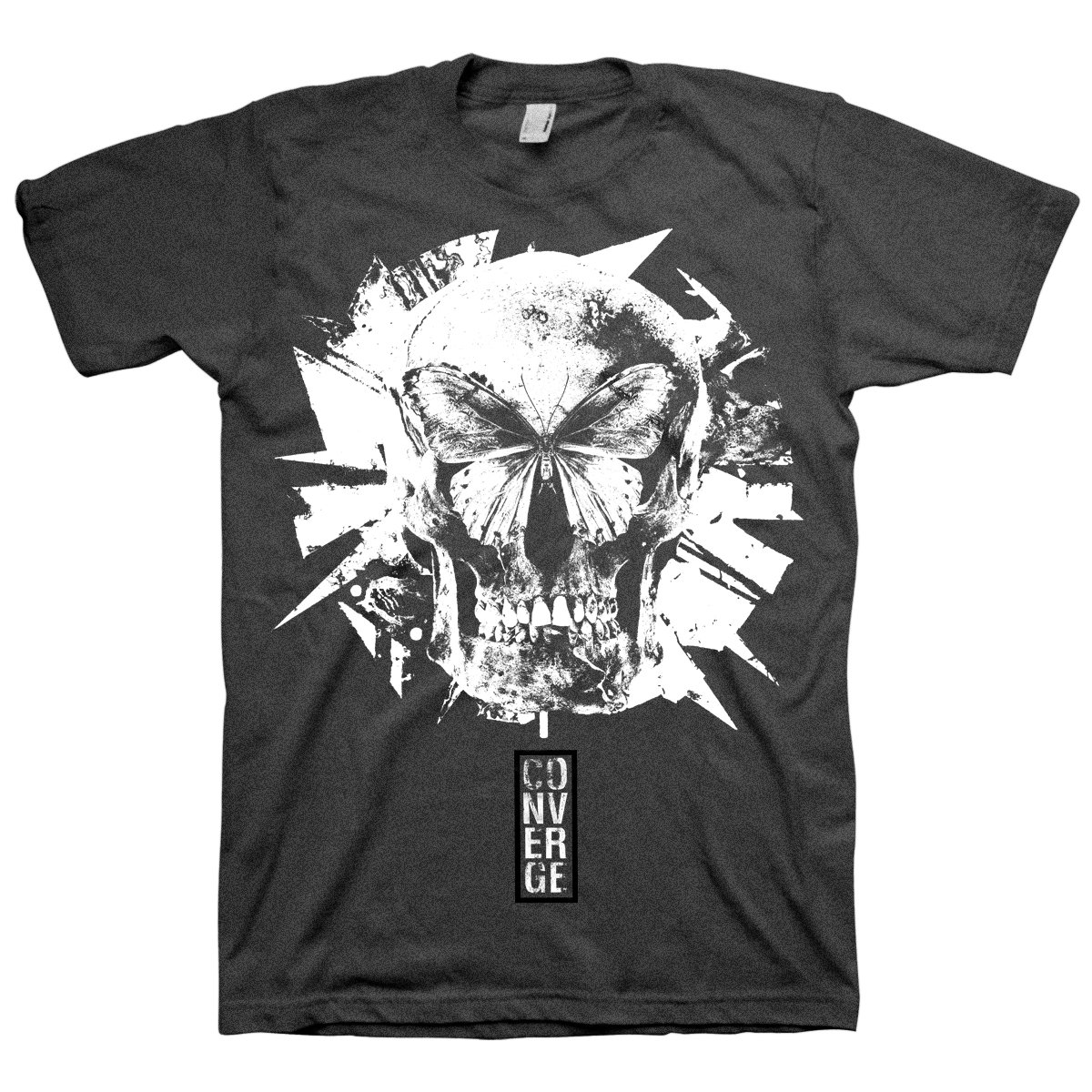 IMAGE   Butterfly Tri-blend Tee (Black)