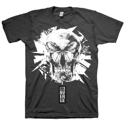 converge - Butterfly Tri-blend Tee (Black)