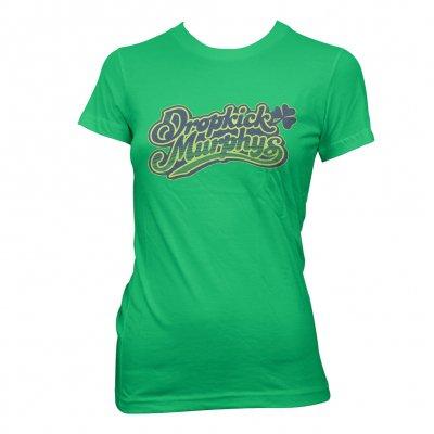 dropkick-murphys - Vintage Womens Cheers Tee (Green)