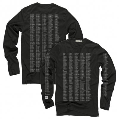 touche-amore - Dateback Longsleeve (Black)