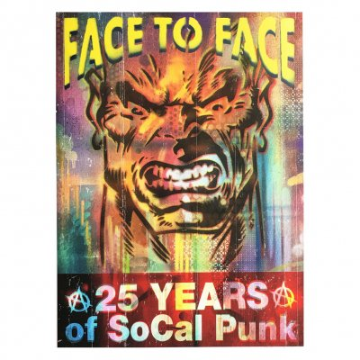 face-to-face - Howl/SoCal Punk Print