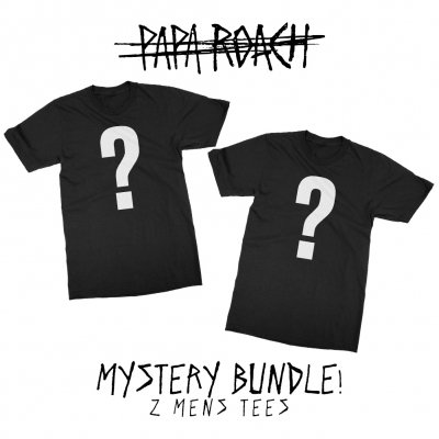papa-roach - Mystery Bundle (2 Mens Tees/Patches)