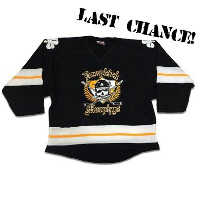 dropkick-murphys - 20th Anniversary Hockey Home Jersey (Black)