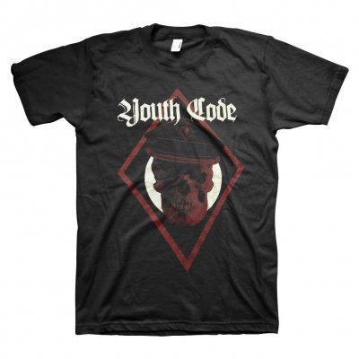 youth-code - Skull Captain T-Shirt (Black)