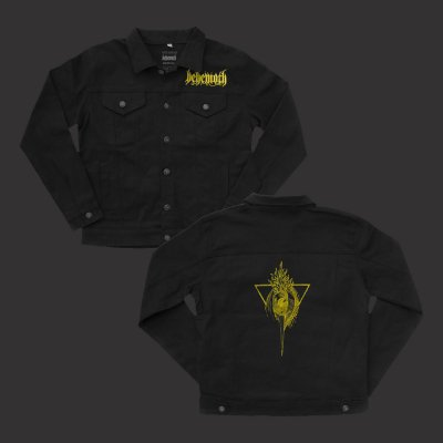 Custom Sigil Denim Jacket (Black)