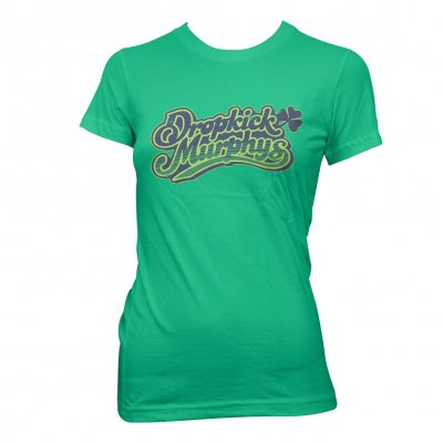 dropkick-murphys - Vintage Womens Cheers Tee (Green)
