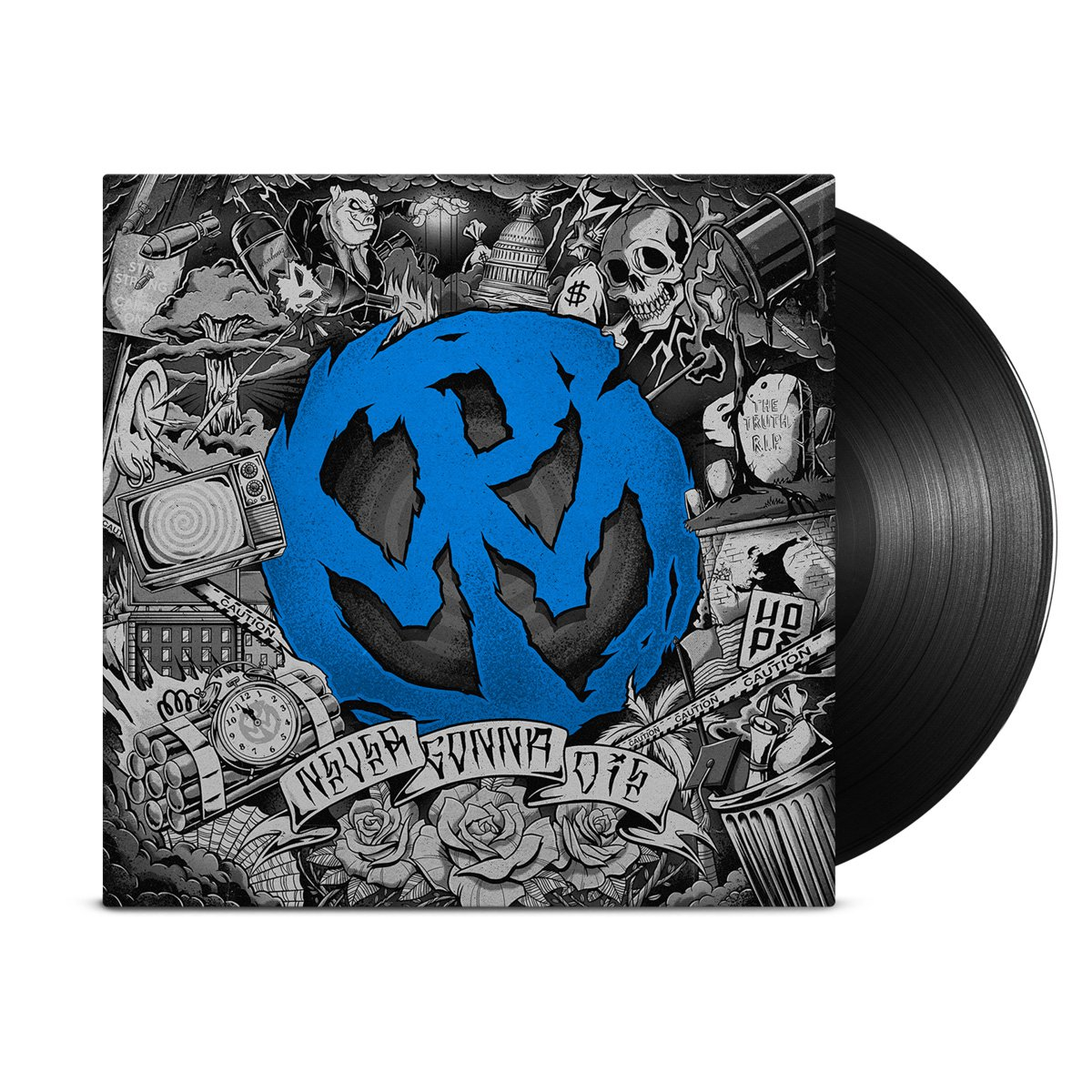 IMAGE | Never Gonna Die LP (Black)