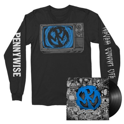 epitaph-records - Never Gonna Die LP (Black) + Long Sleeve Bundle