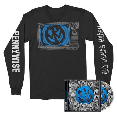 Pennywise - Never Gonna Die CD + Long Sleeve Bundle