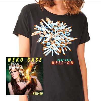 Neko Case - Hell-On CD + Tee (Unisex) Bundle