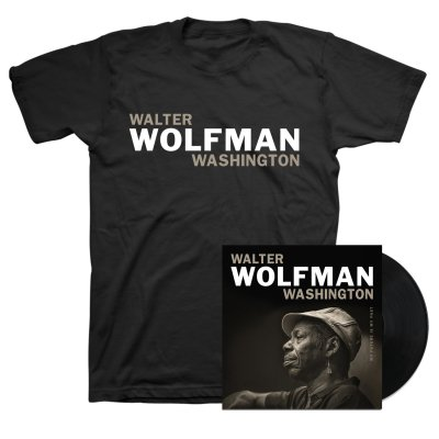 Walter Wolfman Washington - My Future Is My Past LP + Tee Bundle