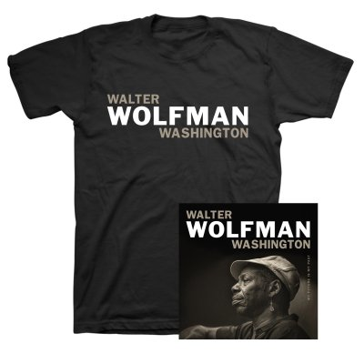 Walter Wolfman Washington - My Future Is My Past CD + Tee Bundle