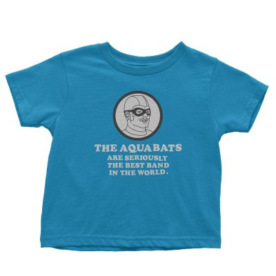 the-aquabats - Seriously Youth Tee (Sapphire)