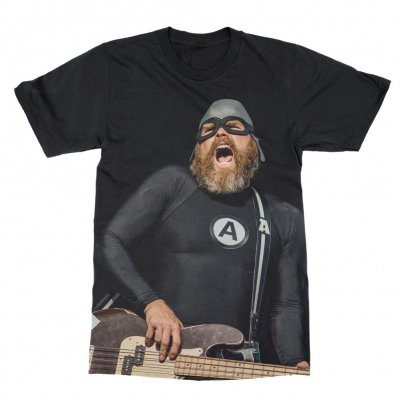 the-aquabats - Bearded Crash Tee (Black)