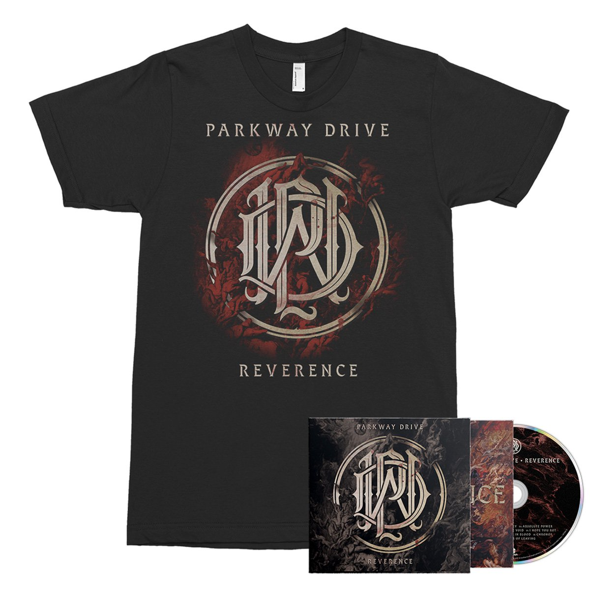 IMAGE | Reverence CD + Tee (Black) Bundle
