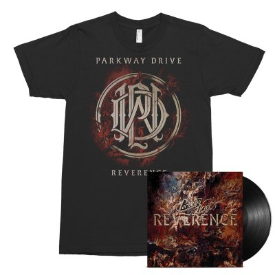Parkway Drive - Reverence LP (Black) + Tee (Black) Bundle