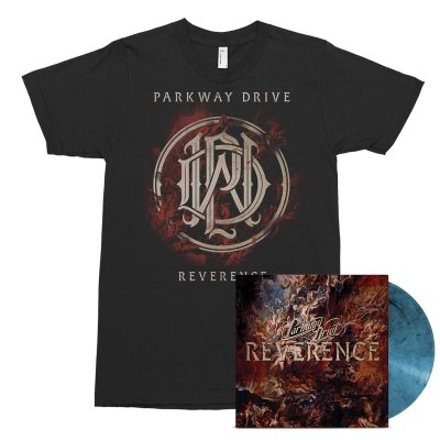 epitaph-records - Reverence LP (Blue) + Tee (Black) Bundle