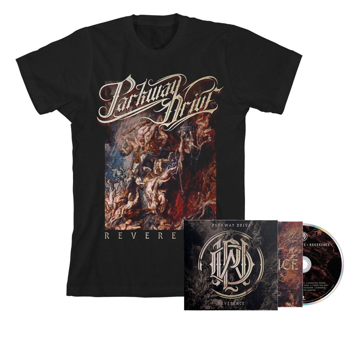 IMAGE | Reverence CD + Album Tee (Black) Bundle