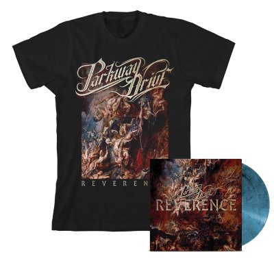 parkway-drive - Reverence LP (Blue) + Album Tee (Black) Bundle