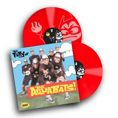 the-aquabats - The Fury Of The Aquabats Remastered 2xLP (Red)