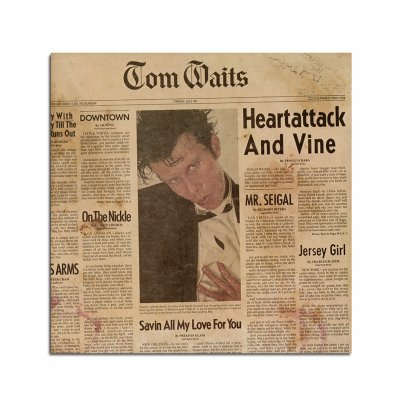 Tom Waits - Heartattack And Vine CD (Remastered)