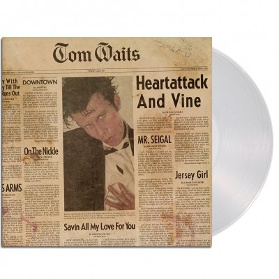 tom-waits - Heartattack And Vine LP (180g Clear Remastered)
