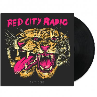 "red-city-radio - SkyTigers 12"" (Black/Screened)"