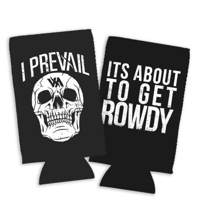 i-prevail - Rowdy Skull Coozie (Black)