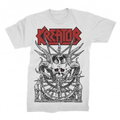 kreator - Demon Altar T-Shirt (White)