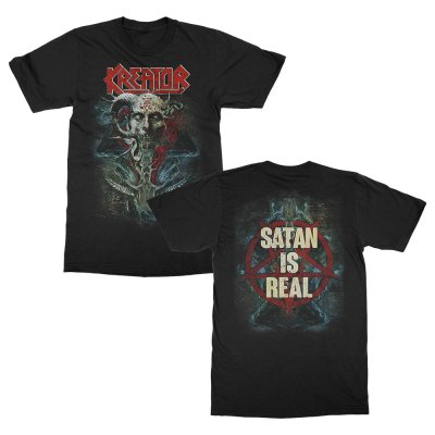 Kreator - Satan Is Real T-Shirt (Black)