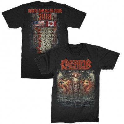 valhalla - War Machine US Tour T-Shirt (Black)