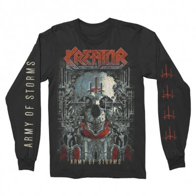 kreator - Army Of Storms Long Sleeve (Black)
