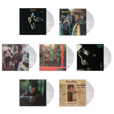 tom-waits - Asylum Era Vinyl Collection (Clear 180-gram)