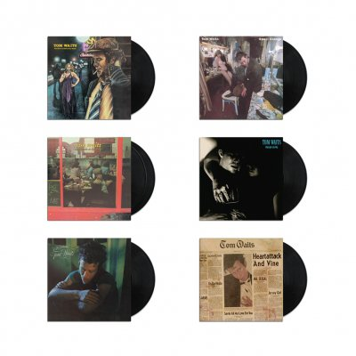 tom-waits - Asylum Era Vinyl Collection (Black 180-gram)